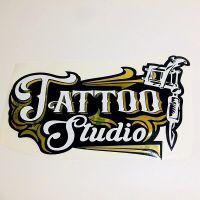 Tattoo Stickers Studio Window Shop Wall Decal Vinyl Art ...