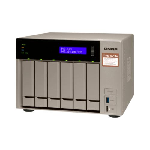 QNAP TVS-673e-4G NAS System 6-Bay