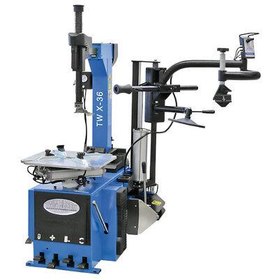 Twin Busch ® Profi Reifenmontagemaschine SEMI AUTOMATIC - TW X-36