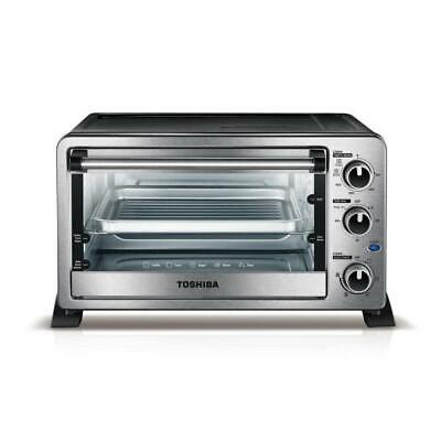 Toshiba 6-Slice Stainless Steel Convection Toaster Oven