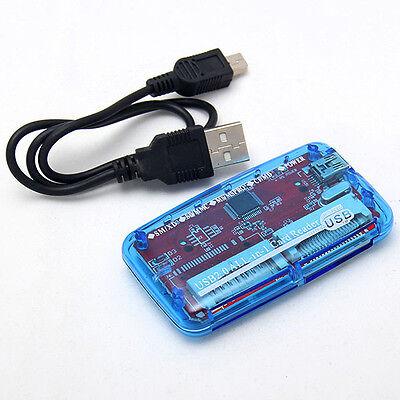 Neu Alle in 1 SDHC Kartenleser 49 in 1 USB2.0 Kartenlesegerät extern SD XD CF MS