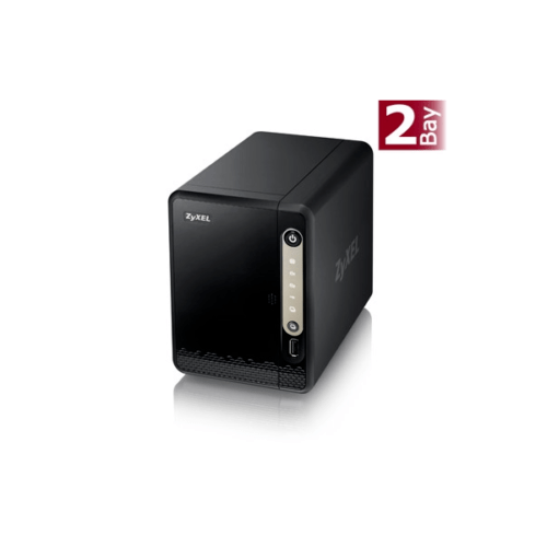 ZyXEL NAS326 NAS System 2-Bay Leergehäuse