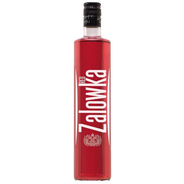 22,13€/l Zalowka Red Vodka Grenadine Likör 0,7 l 21% mit Grenadine Geschmack