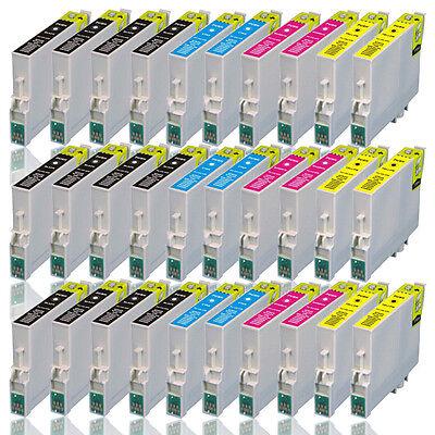 30 Druckerpatronen für EPSON Stylus SX405 Wifi SX410 SX415 SX425 (kein OEM)
