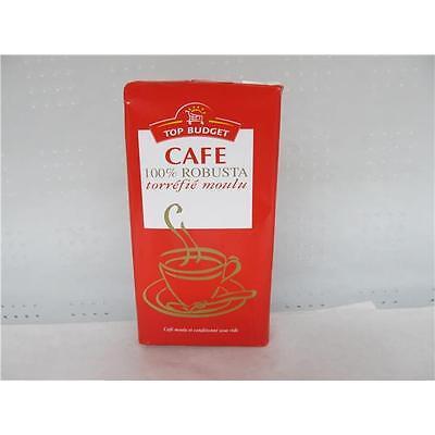 Kaffee 100 % Robusta gemahlen 250 g Probierpreis