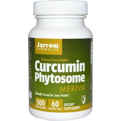 Jarrow Formulas, Kurkumin Phytosome, 500 mg, 60 Vegetarische Kapseln