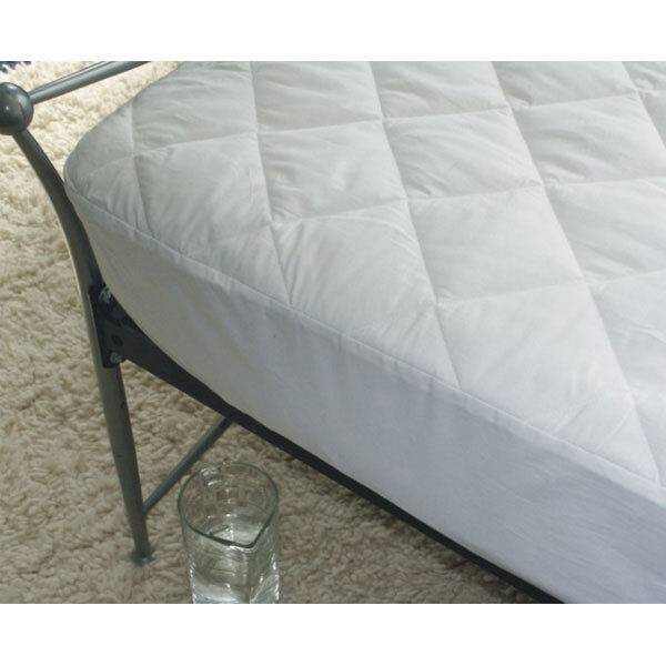 Cotton Waterproof Quilted Mattress Protector 38cm Deep King Bed Anti Allergy