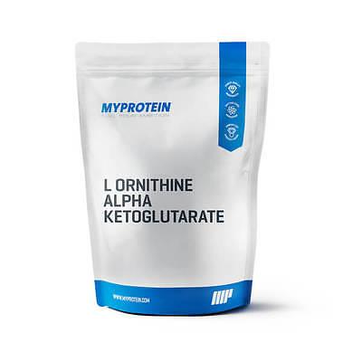 L Ornithin Alpha Ketoglutarat - Erhöht die sportliche Leistung - MyProtein
