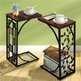 C Shaped End Tables Living Room Sofa Table Coffee Table Snack Table Table Trays