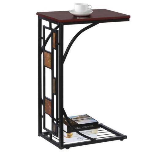 Design Beistelltisch mit Ablage Couchtisch Nachttisch Wohnzimmertisch Sofa Tisch