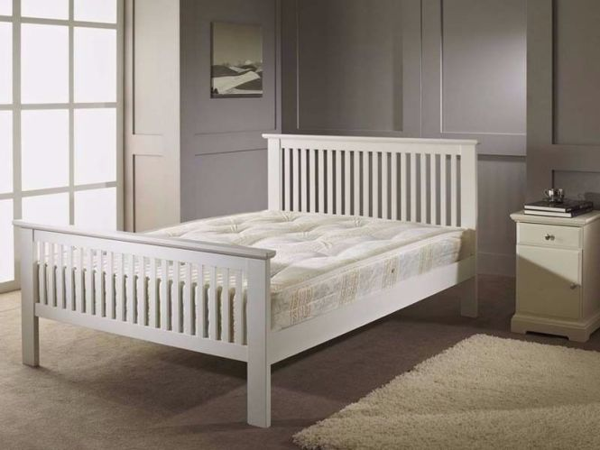 Double Bed Single Barcelona Wooden