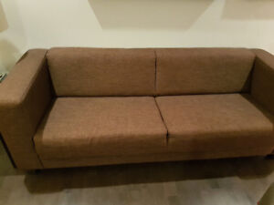 eq3 stella sofa dimensions table behind height under 600 buy or sell a couch futon in ottawa kijiji classifieds and love seat perfect condition