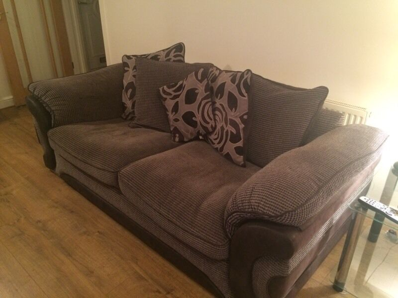 two seater recliner sofa gumtree crumpet usa sofology serena 3 and 1 used but in good ...