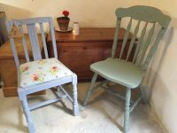Vintage chair painted in annie Buy, sale and trade ads