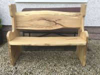 BESPOKE NATURAL WOOD GARDEN BENCH | in Milton, Glasgow ...