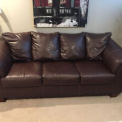 Ashley Leather Sofas And Loveseats Century Furniture Sofa Prices Kijiji In Ottawa Buy Sell Save With Brown Loveseat