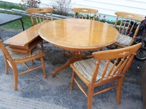 oak kitchen tables sinks for 30 inch base cabinet buy or sell dining table sets in north bay and chairs set
