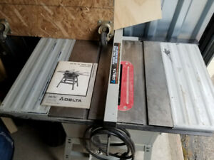 Delta Qt 10 Table Saw For Sale