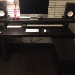 Desk Chair Gumtree Barber Shop Music Production Producer - Ikea Malm With Pull Out Panel   In Corstorphine, Edinburgh ...