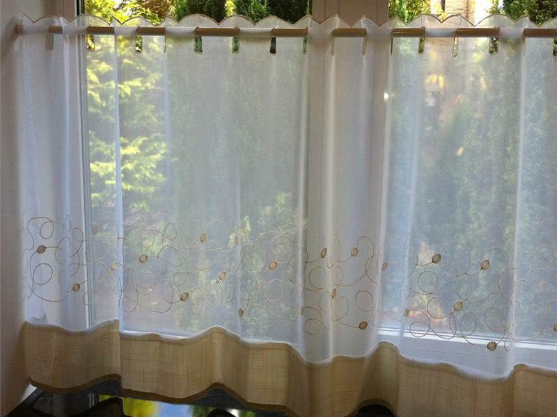 Pictorial Cafes Tier Curtains EBay