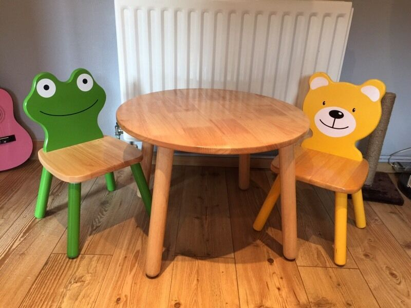 toddler wooden rocking chair lexington dining room chairs john crane pintoy lewis kids table and | in cambridge, cambridgeshire gumtree