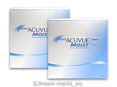 1 Day Acuvue Moist moderne Premium Tageslinsen 2x90 Neu&OVP