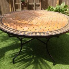 Cast Iron Table And Chairs Gumtree Foldable India Authentic Moroccan Mosaic Garden | In Oxford, Oxfordshire