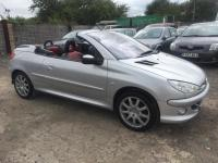 Peugeot 206 1.6 16v 2006 Coupe Convertible Petrol Manual