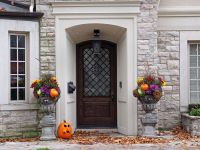 How to Stain a Front Entry Door