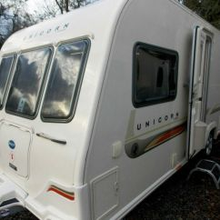 Sofa Beds Reading Berkshire Brown Blue Curtains Bailey Unicorn Valencia 2012 4 Berth Fixed Bed Touring ...