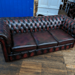 Sofa Warehouse Leicestershire Glass Tables Contemporary Chesterfield Oxblood 3 Seater In Barwell Gumtree