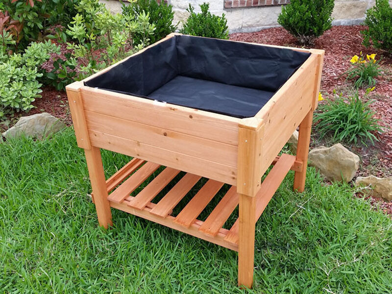 Making Raised Vegetable Garden Box