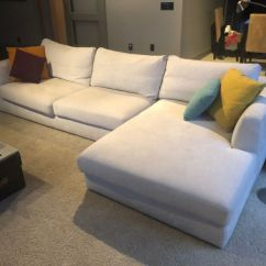Sectional Sofa Couch Miller Urban Barn For Sale Eq3 Couches Futons Calgary Kijiji