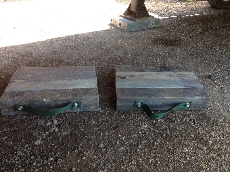Dolly pads for semi trailer  Business  Industrial