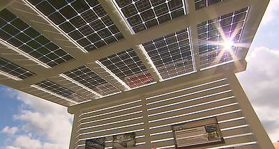 Solar Terrassendach 6 X 3 M Terrassenüberdachung Mit Photovoltaik