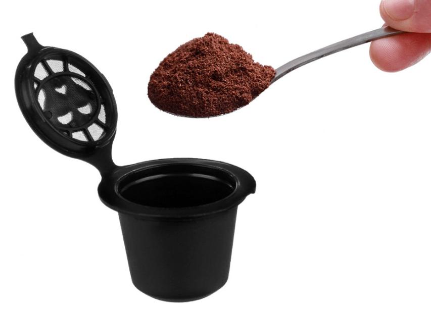 Kapseln Adapter für Nespresso Maschinen Kapselhalter Kaffee Pods Nachfüllbare DE