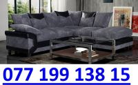 Sofa Immediate Delivery Brand New Black Grey 3 2 Corner ...