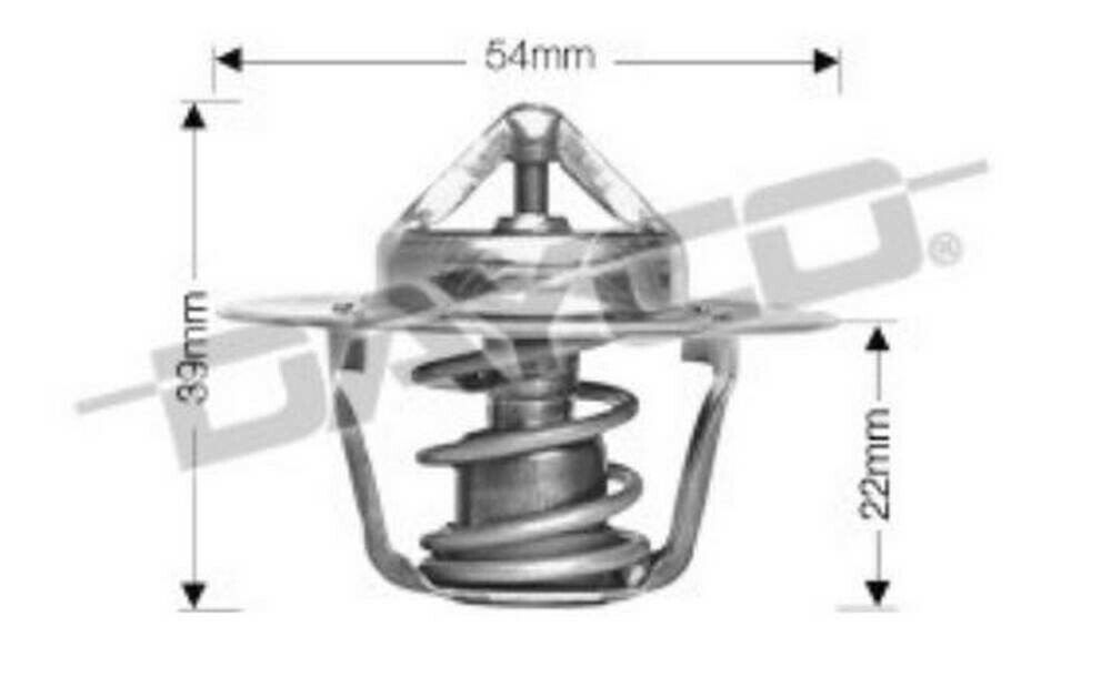 Thermostat for Jeep Grand Cherokee EVA Mar 2003 to May