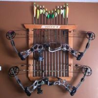 Compound Bow Wall Rack | Car Interior Design