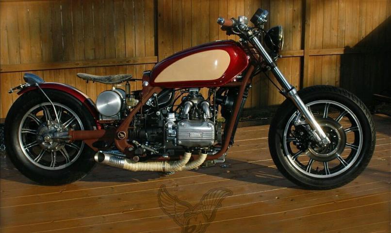 Project Bike Bobber Cafe Racer Or Spares Honda Goldwing Gl1100 In