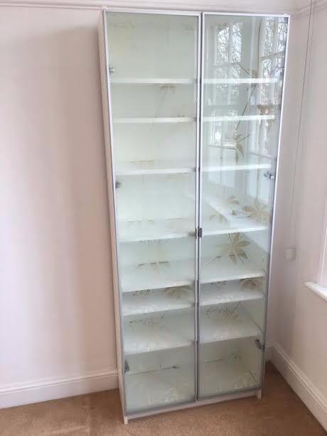online store e3d50 5c6b1 Billy Bookcase Glass Doors