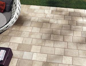 Piastrelle pavimento esterno Panaria gres porcellanato antiscivolo beige  eBay