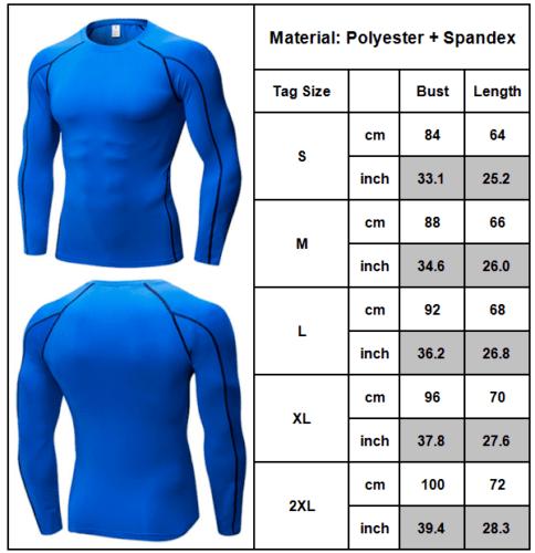 Mens Compression Gym Base Layer T-Shirt Tops Tee Sports Long Pants Legging Sets