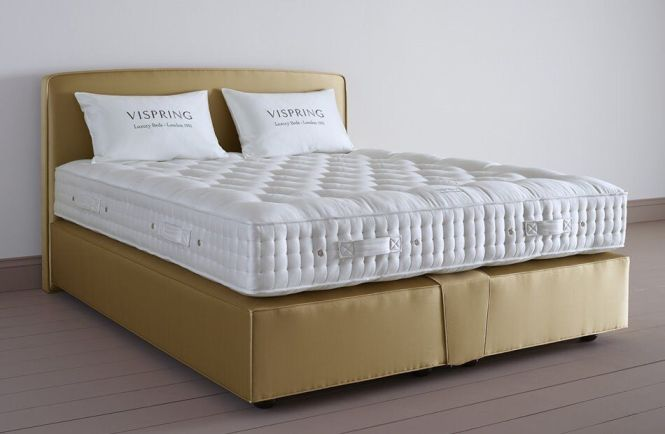Vi Spring Of London Complete Bed Mattress Single Double King Super Size Huge Savings