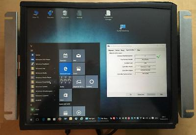 """ELO / DELL OEM TouchSystems 17"""" Touch Screen Monitor OPEN FRAME USB"""