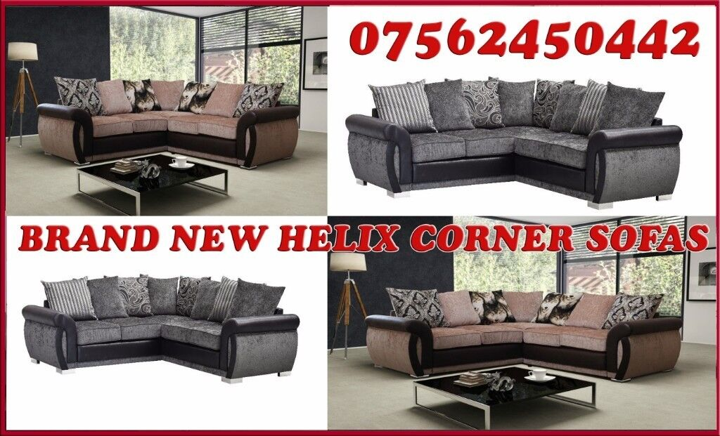 corner sofas glasgow gumtree gray sofa with brown chairs brand new helix set in east end https i ebayimg com 00 s njixwdewmjq