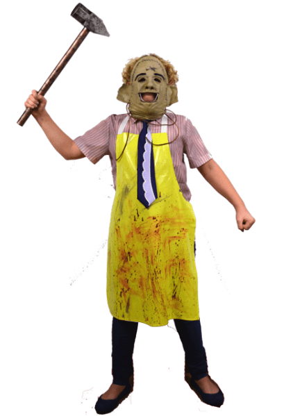 Trick Or Treat Texas Chainsaw Massacre Leatherface Child Halloween Costume  2