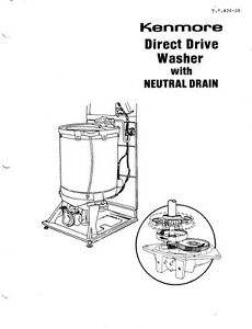 Kenmore Washer Repair Manual Pdf