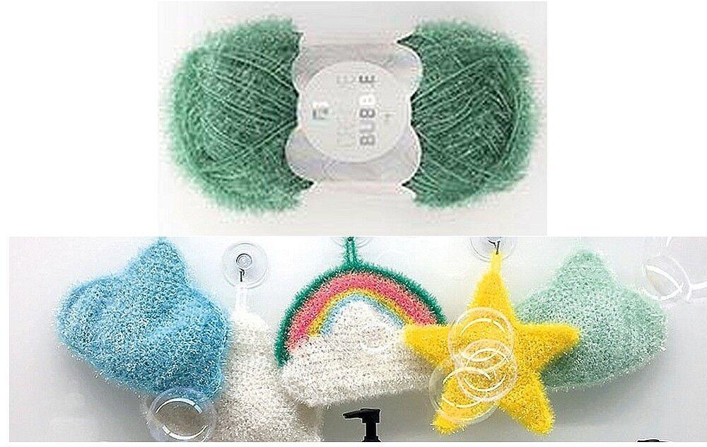 Rico Design  Creative Bubble 50 g Schwammgarn,  Peeling- und Spülschwamm