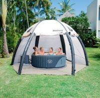 Lay z spa hot tub with pump, cover and tent | in ...